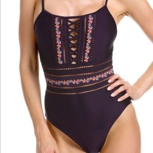 Becca one piece swimsuit